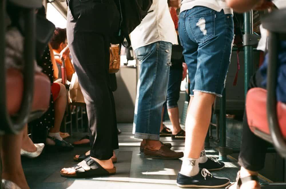pendolari in metro